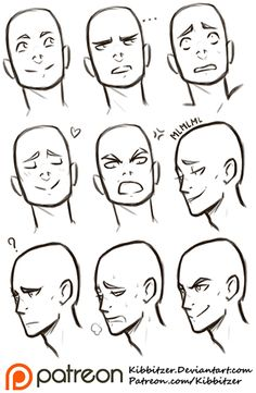"In the deviantart poll Which Reference Sheets you need?  ""facial expressions"" was second! On patreon you can see the full version with 25…"