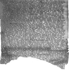 Kerouac's 'On the Road' scroll - the end! by pitoucat, via Flickr