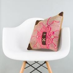 Geometric Multi Color Kilim Pillow Cover 16x16 5710 - kilimpillowstore  - 1