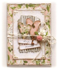 Such a Pretty Mess: Heart card by Gabrielle