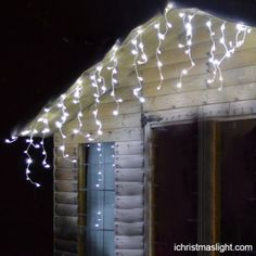 wholesale led decorative white icicle lights