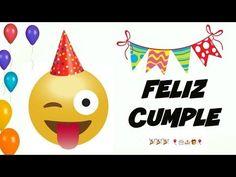 Feliz Cumpleaños EMOJIS Divertido, Gracioso, Para Reir y Dedicar ORIGINAL FELICITACIÓN cancion - YouTube