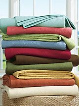 Solid Color Quilted Coverlet, Sham & Throw | LinenSource