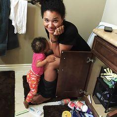 Mom's Bathroom Breastfeeding Photo Causes a Social Media Stink