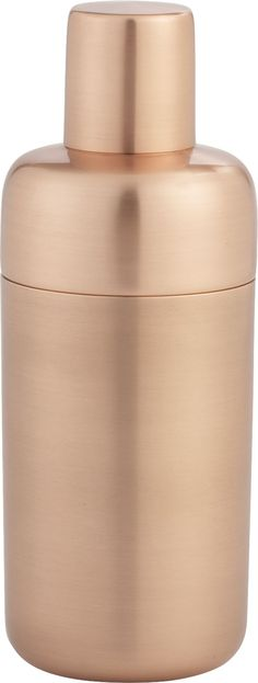 Orb Copper Shaker  | Crate and Barrel