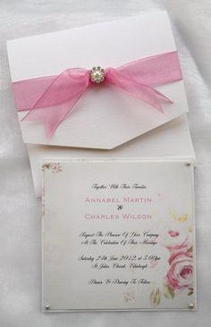 Wedding Invitation - 'Kirstenbosch' Design £3.00