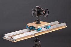 Una Dolly muy sencilla para tu cámara DSLR | Sakafotos