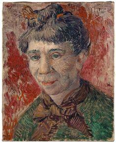 Vincent van Gogh - Woman's Head, 1887
