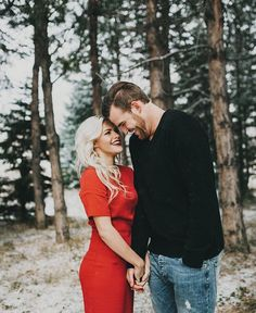 Witney Carson and Carson Mcallister's Engaement Session by India Earl Photography | This is literally perfection!!!!