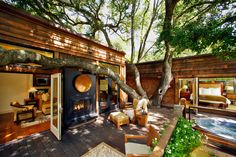 10 california wine country hotels -- stayed at Calistoga Ranch with Tim & Lauri in 2004 | http://www.architecturaldigest.com/gallery/10-california-wine-country-hotels