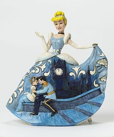 Another great find on #zulily! Disney Cinderella Royal Gown Figurine #zulilyfinds