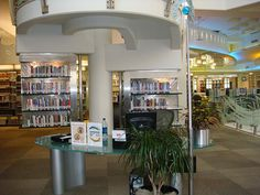 Cerritos Library California Help desk near public workstations | Flickr - Photo Sharing!