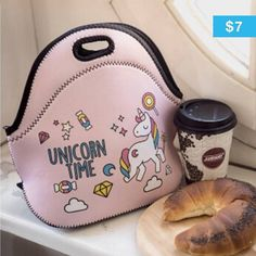 Ride with #unicorns swim with #mermaids and make #Monday magical with this lunchbag! #dotheimpossible http://ift.tt/2gpKQmB