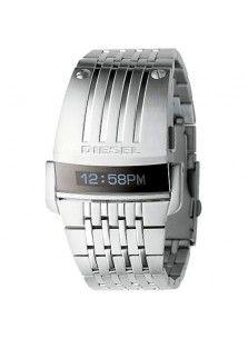 95508f14ad2 DZ7080 Silver SBA LED Digital Mirror Dial Watch Diesel Watches For Men
