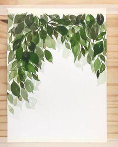 493 Likes, 8 Comments - Mandie Watercolor Artists, Plant Leaves, Herbs, Watercolors, Flowers, Plants, Instagram, Watercolor, Watercolor Paintings