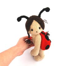 Red with black dots by Fieke on Etsy