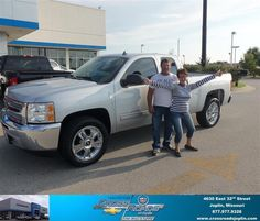 #HappyAnniversary to Annette Lee on your 2013 #Chevrolet #Silverado 1500 from Mcclure Justin at Crossroads Chevrolet Cadillac!