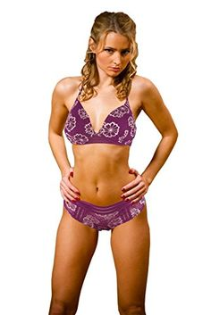 5d40237f53b5b6 Victorias Secret PINK Periwinkle Lightly Lined Bra Cheekster Set 32 DD  Small --    AMAZON BEST BUY     VictoriasSecretPantySets