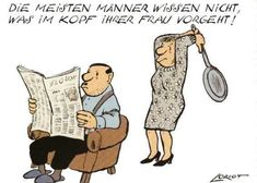 Most men do not know what& in your wife& mind . Comics Und Cartoons, Funny Character, Your Wife, Satire, Funny Men, Hilarious Stuff, Really Funny, Laughter, Hilarious Pictures