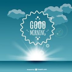 good-morning-label-vector_23-2147497621.jpg (626×626)