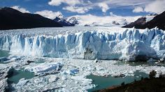 Discover Perito Moreno Glacier in Los Glaciares National Park, Argentina: This stunning mass of ice spans 121 square miles and is still growing. Amazing Places On Earth, Great Places, Beautiful Places, Parc National, National Parks, Medieval Warm Period, Ice Sculptures, Landscape Photos, Patagonia
