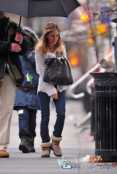 Sarah Jessica Parker's latest bag is giving me fits