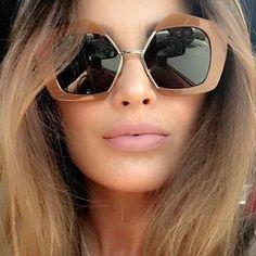096529797b Pop Age New Half Frames Semi-Rimless Sunglasses Women Celebrity Brand  Designer Driving Sun Glasses Retro Eyewear Lentes