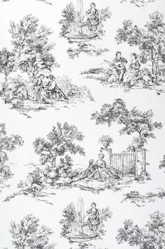 1000 images about toile de jouy on pinterest toile de jouy toile and print patterns. Black Bedroom Furniture Sets. Home Design Ideas