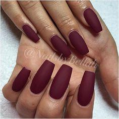 "Emily, matte ""Alexandria"" #nails #by #me #gelnails #gelénaglar #nailart #naildesign #dopenails #nailssthlm #naglarsthlm #OPI #nailsbybellah"