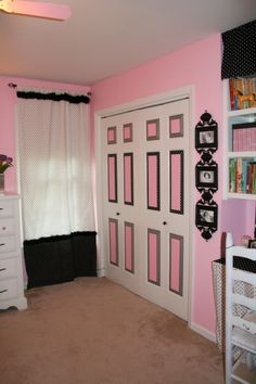 Paris Girls Bedroom Decor | Girls Pink Polka Dot Paris Poodle - Girls Room Designs - Decorating ...