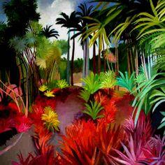 'jardin écarlate' / Catherine Théodose