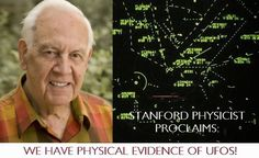 Stanford Physicist Proclaims: We Have Physical Evidence of UFOs!
