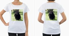 Newfoundland+Laying+Women's+Loose-Fit+T-Shirt+(White)
