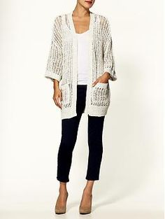 Free People 'Gone Fishing' cardigan. Summer must-have for me. :)