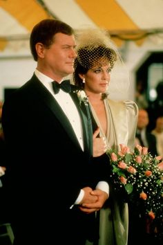 Sue Ellen and J.R Ewing Dallas #Wedding