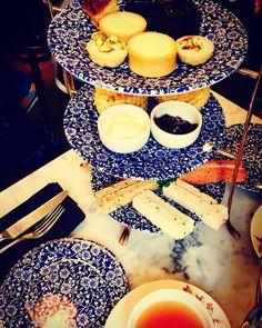 Afternoon tea at Liberty- a proper English classic. #libertyoflondon #afternoontea #regentstreet - Thanks to @jfparrington! #libertygardenparty