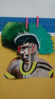 Indígena: Foto/Releitura