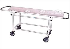Hospital stretchers: GPC Medical Ltd. - Exporters and manufacturers of Hospital stretchers, stryker hospital stretchers from India