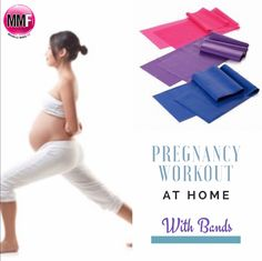Pregnancy Workout At Home (With Bands)