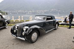1939 Lancia Astura 4th Series Cabriolet by Pinin Farina