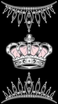 Purple and pink sparkly diamond crown Soul in 2019