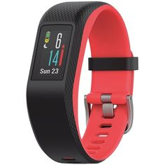 Look no Further than Garmin to introduce the VivoSmart Sport activity tracker with wrist-based heart rate and GPS Work out inside, or use built-in GPS to accurately track activities outside Includes fitness monitor. Best Fitness Tracker, Fitness Activity Tracker, Fitness Activities, Sports Activities, Indoor Activities, Outdoor Workouts, Fun Workouts, Smartwatch, Fitbit