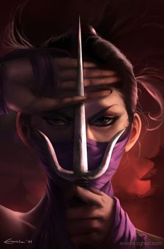 The Blind Ninja — Mileena by MihaiRadu