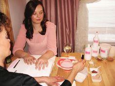 Signature Services: Chardonnay Silk Spa Manicure - Technique - NAILS Magazine Nail Technician Salary, Nail Technician License, Nail Technician Courses, Spa Manicure, Pedicure Spa, Manicure Ideas, Silk Spa, Salon Promotions, Good Job