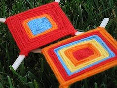 Ojo de Dios - good old-fashioned summer camp fun!