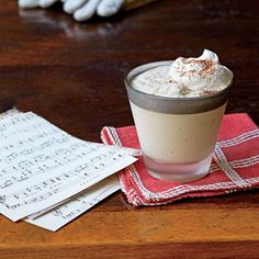 Festive Milk Punch Recipes: Cane Syrup Milk Punch