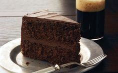 Chocolate Stout Layer Cake with Chocolate Frosting / Patricia Heal
