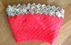 Candy Wrap handbag with popcorn