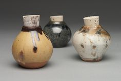 highfirefaunaceramics:    saltfired white stoneware  Jay Wiese Pottery