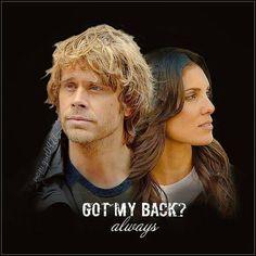 Got my back? Always.
